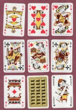 Collectible  Advertising d playing cards.United Furniture circa 1960's,